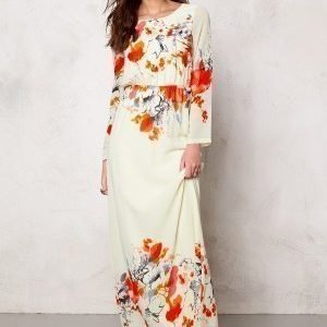 Dry Lake Afternoon Long Dress Poppy Print