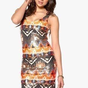 Dry Lake Alina Dress Inca Sequins