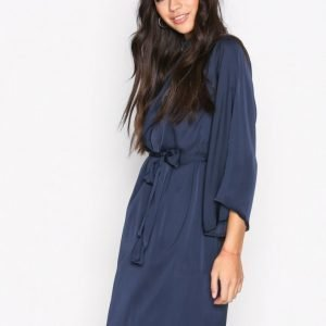 Dry Lake Amy Dress Loose Fit Mekko Navy