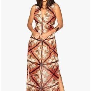 Dry Lake Antoinette Long Dress Royal