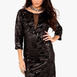 Dry Lake Celine Dress Musta