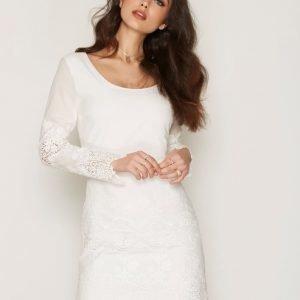 Dry Lake Day Dreaming Sleeve Dress Kotelomekko White