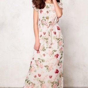 Dry Lake Flower Power Long Dress Flower Print