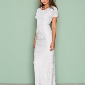 Dry Lake Haze Long Dress Juhlamekko Light Grey