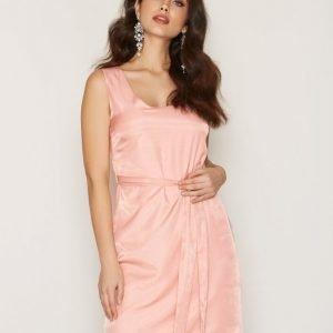 Dry Lake In Love Short Dress Loose Fit Mekko Light Pink