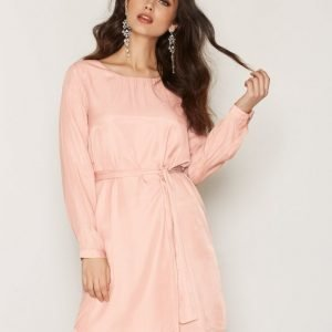 Dry Lake In Love Sleeve Dress Loose Fit Mekko Light Pink