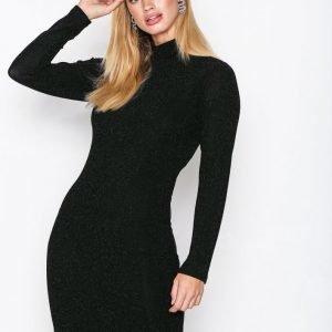 Dry Lake Kelly Dress Kotelomekko Black