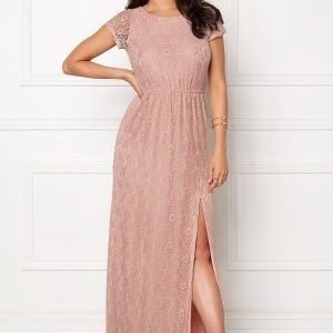 Dry Lake Last Flower Long Dress Light Rose Lace