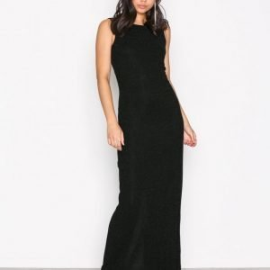 Dry Lake Loreen Dress Maksimekko Black