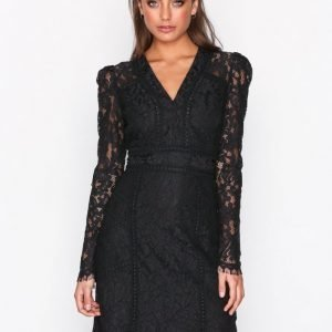 Dry Lake Miranda Dress Maksimekko Black Lace