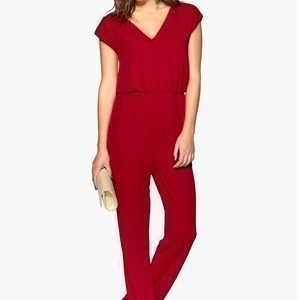 Dry Lake Odessa Jumpsuit Red