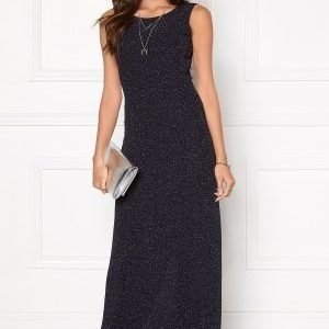 Dry Lake Space Long Dress Sparkling Navy