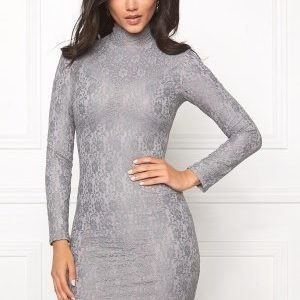 Dry Lake Storm Turtle Dress Grey Lace