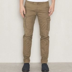 Dstrezzed Cargo Slim Chino Army Green