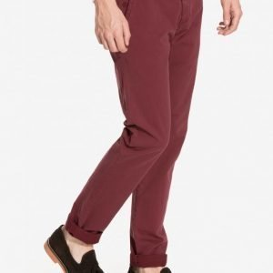 Dstrezzed Chino Pant belt Stretch T Chinot Red