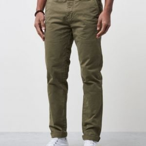 Dstrezzed Chino Pants w Belt Army Green