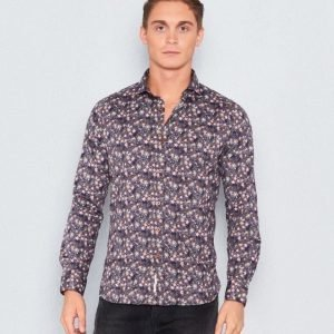 Dstrezzed Shirt Multi Flower Anthra