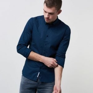 Dstrezzed Shirt Polka Dot Navy