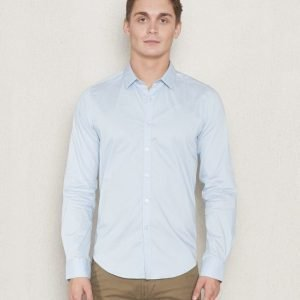 Dstrezzed Stretch Poplin Shirt Powder Blue
