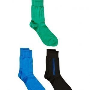 ECCO 3-Pac Business Sock nilkkasukat