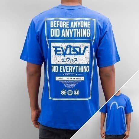 EVISU T-paita Sininen