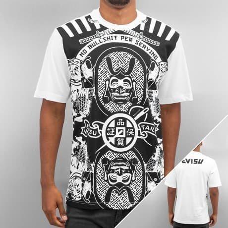 EVISU T-paita Valkoinen