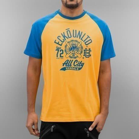 Ecko Unltd. T-paita Keltainen