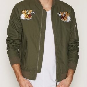 Edwin Flight Souvenir Jacket Takki Military Green