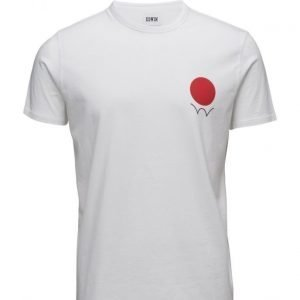 Edwin Red Dot Logo 2 T-Shirt lyhythihainen t-paita