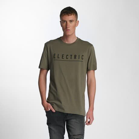 Electric T-paita Oliivi