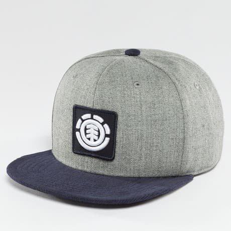 Element Snapback Lippis Harmaa