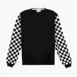Eli Reed Checker Sleeve Raglan