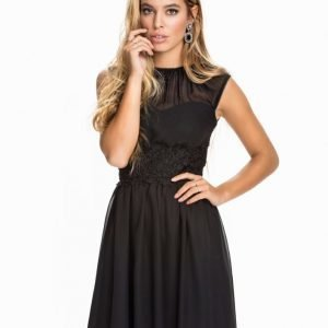 Elise Ryan Chiffon Skater Dress