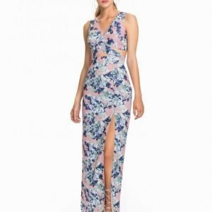 Elise Ryan Cut Out Print Maxi Dress Maksimekko Print