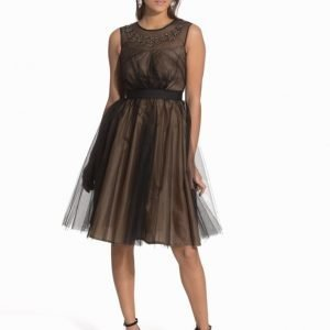 Elise Ryan Midi Taffetta Dress