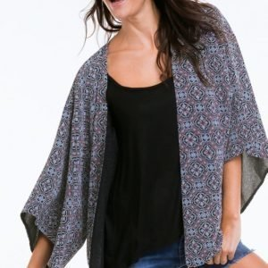 Ellos Kimono Polyesterisorsettia