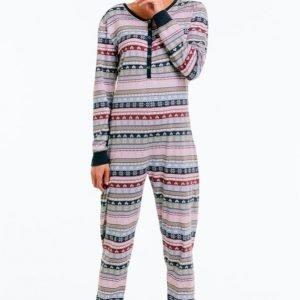 Ellos Pyjamahaalari Ekologista Puuvillaa
