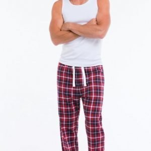 Ellos Pyjamahousut Flanellia