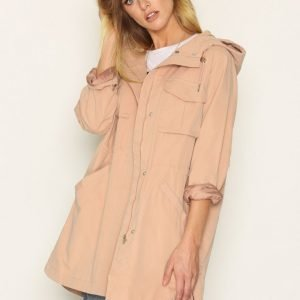 Elvine Antonia Brushed Jacket Parkatakki Rose