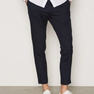 Elvine Isaacson Pants Housut Dark Navy