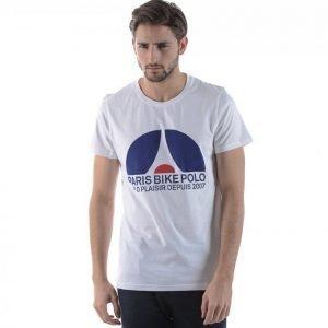 Elvine Paris Bike Tee T-paita Valkoinen