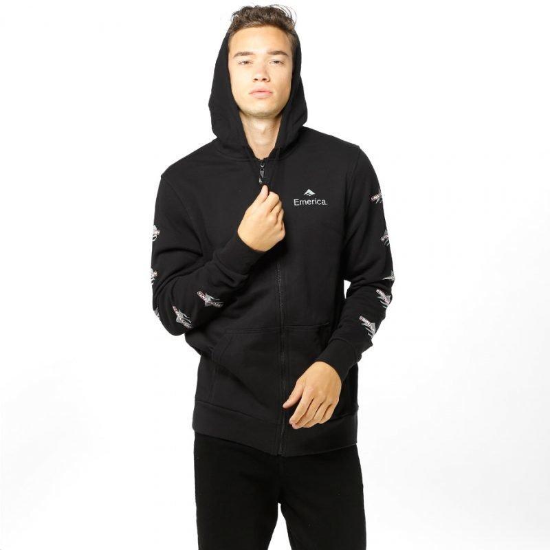 Emerica Indy Zip -zip hoodie