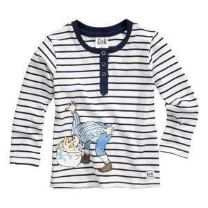 Emil i Lönneberga T-paita Sininen Valkoinen Raidallinen