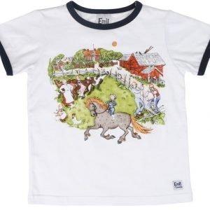 Emil i Lönneberga T-paita Valkoinen