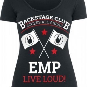Emp Backstage Club Flags Naisten T-paita
