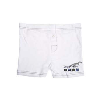 Esprit Basic Dino Boxer Shorts White