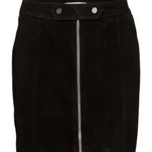 Esprit Casual Skirts Leather lyhyt hame