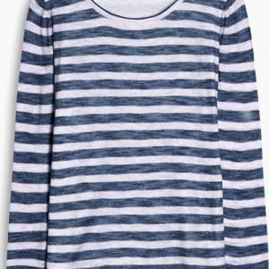 Esprit Casual Sweater Stripe Puuvillaneule
