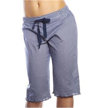 Esprit Mini Vichy Capri Pants Navy