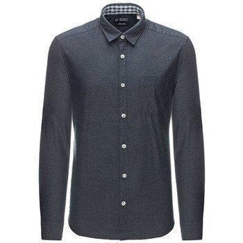 Esprit Solid kauluspaita pitkähihainen paitapusero